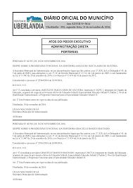 DIÁRIO OFICIAL DO MUNICÍPIO