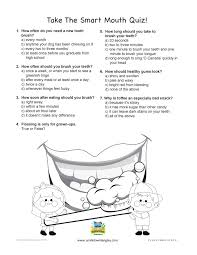 smart mouth quiz langley childrens dentist