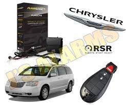 2014 chrysler town country van plug play add on remote start product description