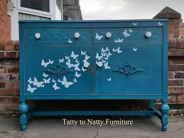 painted vintage furniture55 best Painted Sideboards Decoupage shabby chic distressed