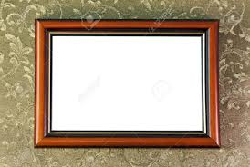 empty frame of the picture hanging on the wall Stock Photo - 12027831