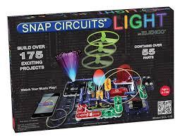 Snap Circuits Light Amazon Com Elenco Snap Circuits Light Scl 175 Ipod And