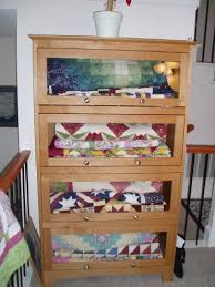 27 best Quilt racks images on Pinterest | DIY, Shelves and Free ... & What a beautiful way to display/store Adamdwight.com