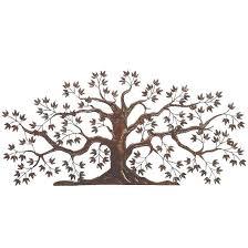 metal tree wall sculpture