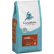 caribou coffee caribou blend um roast ground coffee 20 oz walmart