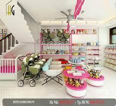 Thiết kế shop mẹ và bé MomaKids - Vĩnh Yên