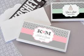 Personalized Chocolate Bar Wrappers for Wedding