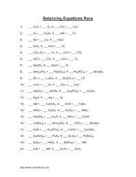 lovely balancing equations worksheet answer key physical science if8767 answers balancingemical photo equationsworksheets on works worksheet