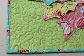 Free-Motion Quilting Stitches: 5 Must-Knows for Every Quilter & Stippling - A common free-motion quilting stitch Adamdwight.com