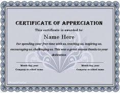 Volunteer Certificates Employee Certificate Of Appreciation Work Pinterest