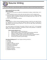 Resume Writing Samples 100 Career Objective Examples For Teachers SampleResumeFormats100 84