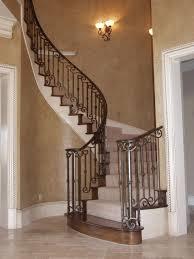 beautiful custom interior stairways. Custom Iron Work In Wrought Beautiful Interior Stairways D