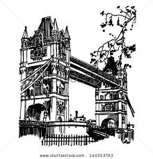 famous architectural buildings black and white. Vector Famous Monuments Of Architecture From Around The World. England Black And White Architectural Buildings R