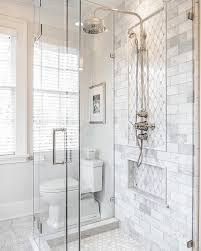 carrara marble bathroom designs. Unique Bathroom Weu0027re Feeling Inspired By This Beautiful Bathroom From  The_real_houses_of_ig Get The Look With Our Reflection Diamond Tile Carrara Marble Subway Tile And  To Marble Bathroom Designs