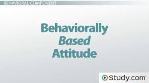 Abc Behaviour Chart Example The Abc Model Of Attitudes Affect Behavior Cognition
