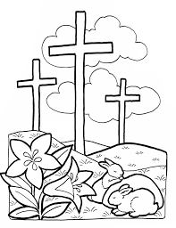 Free Preschool Christian Easter Coloring Pages Easter Coloring Pages