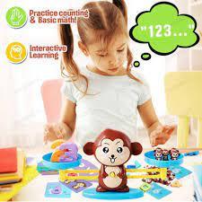 Đồ chơi toán học bộ đồ chơi con khỉ học toán cân bằng thông minh giảm chỉ  còn 140,000 đ