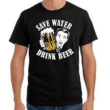 Großhandel Sparen Sie Wasser Trinken Sie Bier Sprüche Geschenk