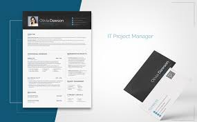 Olivia Dawson Project Manager Resume Template 65254