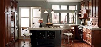 Perfect Kitchen Wall Colors With Cherry Cabinets Winsome Full Inside Modern Design