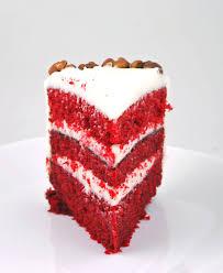 slice of birthday cake red velvet. Perfect Red Red Velvet Cake For Slice Of Birthday D