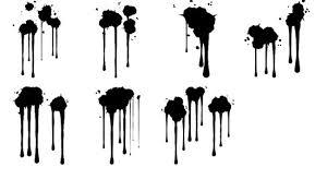 Free Photoshop Drippy Sprays Brushes