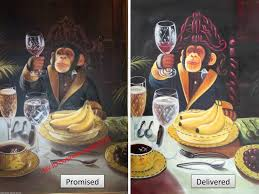 chimp with wine glass