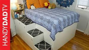 storage bed ikea hack. IKEA Hack Platform Bed - Freestanding Version Storage Ikea
