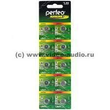 <b>Батарейки</b> - <b>Perfeo LR41/10BL Alkaline</b> Cell 392A AG3