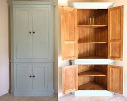 Exceptional Freestanding Corner Pantry For Extra Storage In The Hallway · Kitchen  Corner CupboardTall ... Photo Gallery