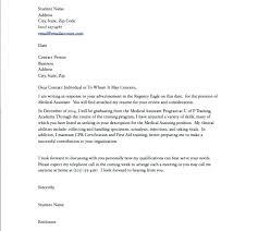 Medical Application Letter Sample Lpn Cover Letter Template Free Medical Assistant Cover Letter