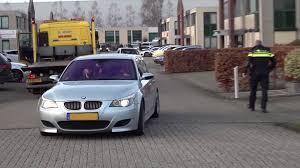 Video Bmw M5 V10 Is Anti Social On Public Roads Until A Police Officer Arrives Ruetir