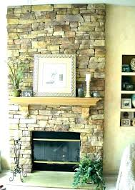 fireplace rock wall brick ideas stone white diy whitewash gas fir white rock fireplace