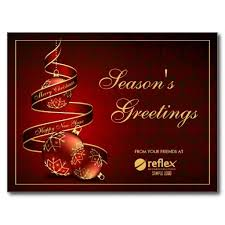 Buisness Greeting Cards Corporate Season Greetings Cards With Logo Business And Corporate