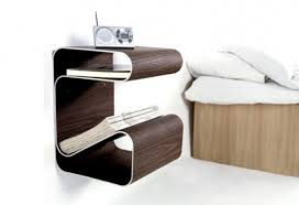 Unpredictable Wall Mounted Nightstand Design Combining Style And Function  Offering Some Benefits ...