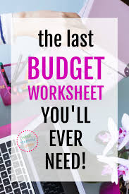 Best Budget Templates Best Budget Spreadsheet For 2019 What Mommy Does