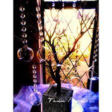 6 hanging bubble tea light candle holder set of 6 3 5 diameter wedding decor