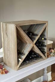 wood wine box wine rack design