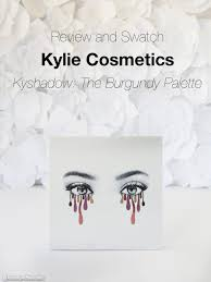 Kylie Cosmetics Kyshadow Burgundy Palette