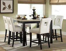 dining room chairs counter height. faux marble counter height dining table chairs room furniture set dining room chairs counter height