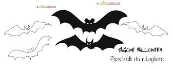 Sagome Pipistrelli Da Stampare Colorare E Ritagliare