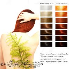 Kitsune Fox Fire Herbal Hair Color