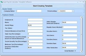 Payroll Free Software Download Excel Excel Payroll Calculator Template Software