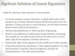 4 algebraic