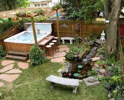 Hot Tub Backyard Ideas Plans New Design