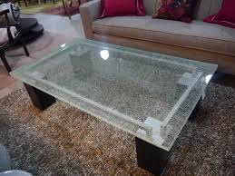 Outdoor Table Glass Shattered