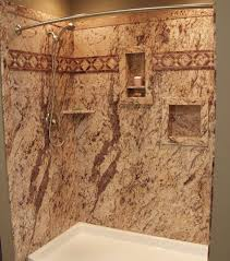 tub shower wall panels with stone