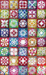 78 Best images about Hawaiian Quilts & Applique on Pinterest ... & Applique Magic blocks with Kaffe Fassett fabrics at Jenny Haskins Designs  (Australia) Adamdwight.com