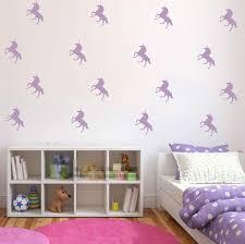 32pcs lot custom color diy unicorn wall stickers kids room decal vinyl art decor mural on customised wall art stickers uk with 32pcs lot custom color diy unicorn wall stickers kids room decal