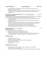 Cover Letter For Graduate School Fascinating Library Media Specialist Cover Letter Librarian School Examples Page